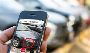 Record360 says its new mobile app provides documentation of vehicle condition, time-stamped and verified with the customer, to avoid damage disputes.