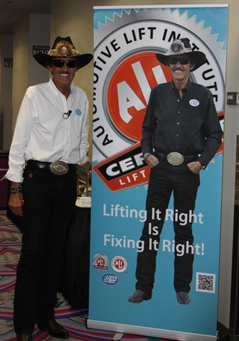 Richard Petty recently helped the ALI kick off its program at the SEMA Show in Las Vegas.