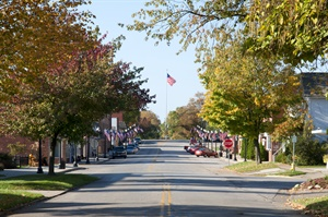 Doylestown is a classic small-town-America village of about 3,500 residents, located 13 miles southwest of Akron, Ohio.