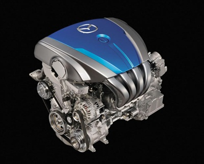 Skyactiv G gasoline engine.