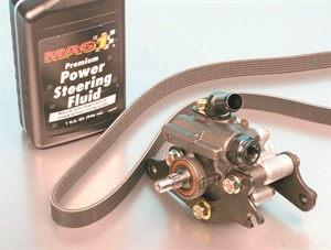 """Always take the time to determine the correct type of power steering fluid for a specific make/model/year. Never assume that any fluid that is labeled as """"for all applications"""" is correct. If in doubt, ask the local car dealer's service or parts department for their recommendation."""