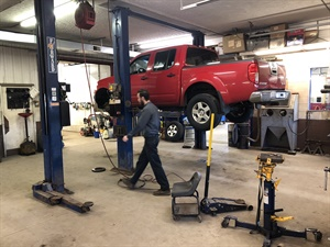 The shop services a full array of vehicles, including domestic and import passenger cars, SUVs and light trucks.