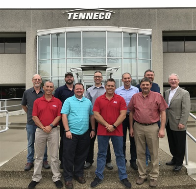 Members of the Aftermarket Auto Parts Alliance Service Center Advisory Council held their fall meeting at Tenneco's headquarters in Monroe, Mich.