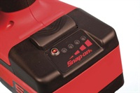 Each battery features its own charge level indicator LED lights, so there's no guesswork involved with determining state of charge.