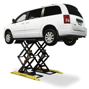 Scissor lifts are economical and convenient to use for many services and repairs.