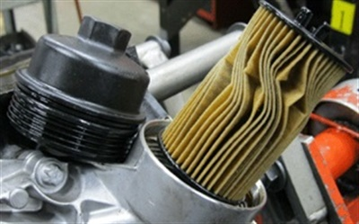 Careless installation can result in smashing the filter element, restricting flow.