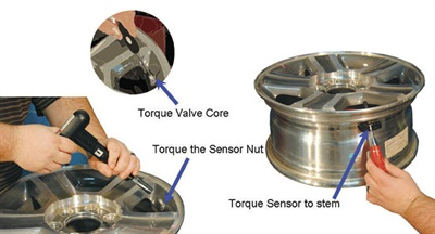 Torque is critical. This includes stem to sensor, sensor stem hex nut, core and cap.