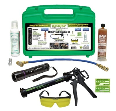 Tracer Products says the Tracerline Opti-Pro EZ-Shot A/C kit is budget-friendly, efficient, and easy to use.