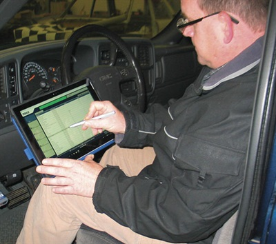 The keyboard can be folded up against the tablet when not needed. You can manage selection with your finger on the touchscreen, or use the supplied pen for more accuracy when making your selections.