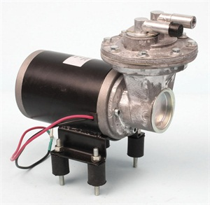 Aftermarket electric vacuum pumps are readily available. This one is from Comp Cams.