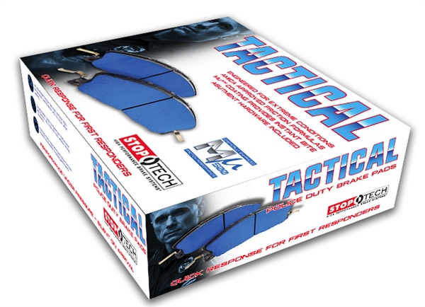 Centric Parts' new AMECA-approved Tactical Police Duty Brake Pads are designed specifically for extreme driving conditions.