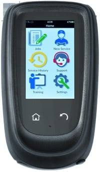 Figure 4: The Bartec Tech1000 works with all OE TPMS sensors and is easy to operate. Courtesy of Bartec USA