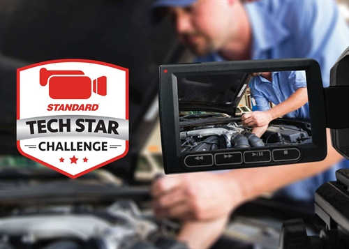 """Standard Motor Products names Matthew Cranford the grand prize winner of the Standard """"Tech Star"""" Challenge."""