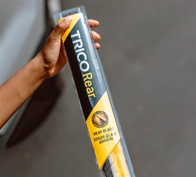 Trico Rear wiper blades are available in 8- to 16-inch lengths.