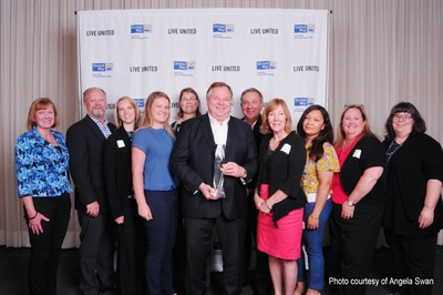 BPI employees raised over $273,000 for the United Way of Greater McHenry County in 2017.