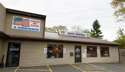V&F Auto is in the small town of Agawam, Mass.