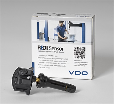The new REDI-Sensor SE10005 is compatible with all major TPMS scan tools and is ready to install right out of the box.