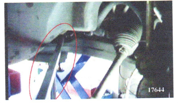 Use a pry bar to move the subframe while checking for noise.
