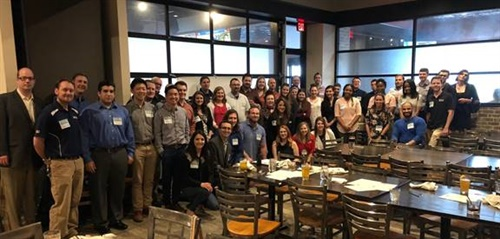 More than 50 people attended the Dayco YANG Regional Meet-Up held recently in Farmington Hills, Mich.