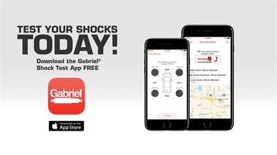The new Gabriel Ride Control LLC - Suspension Test app is for iOS and Android devices.