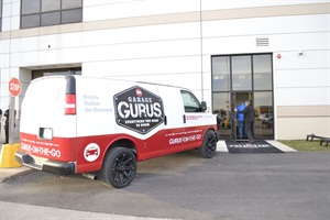 "Each Garage Gurus location includes a fleet of interactive vans with ASE-certified ""gurus"" who come to your shop to offer assistance."