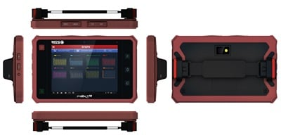 Match Tools' maxGO Android-based tablet is easy to use and portable.
