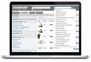 The Standard Motor Products Inc. (SMP) e-catalog is redesigned with new search and filter tools