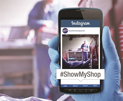 "SMP's TechSmart ""Show Us Your Shop"" contest engages technicians and do-it-yourselfers to Instagram their shop for a chance to win $100."