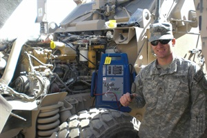 U.S. Army veteran Daniel Wieman is now home serving in the U.S. Army Reserves and earning a degree in automotive engineering.