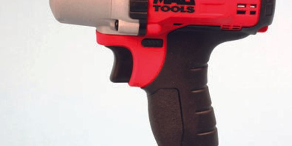 The 3/8-inch-drive Mac Tools cordless wrench is relatively compact, at 7.1 inches tall by 6.7...
