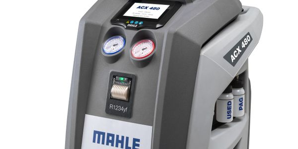 Mahle says its latest A/C service units are available with special connector couplings that...