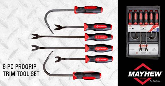 Mayhew Tools Has a New 6-Piece Set of Trim Tools