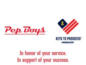 Pep Boys Supports Veterans With Progressive Keys to Progress
