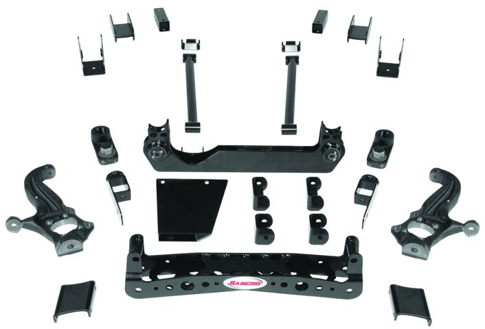 New Rancho suspension system for Chevy, GMC trucks
