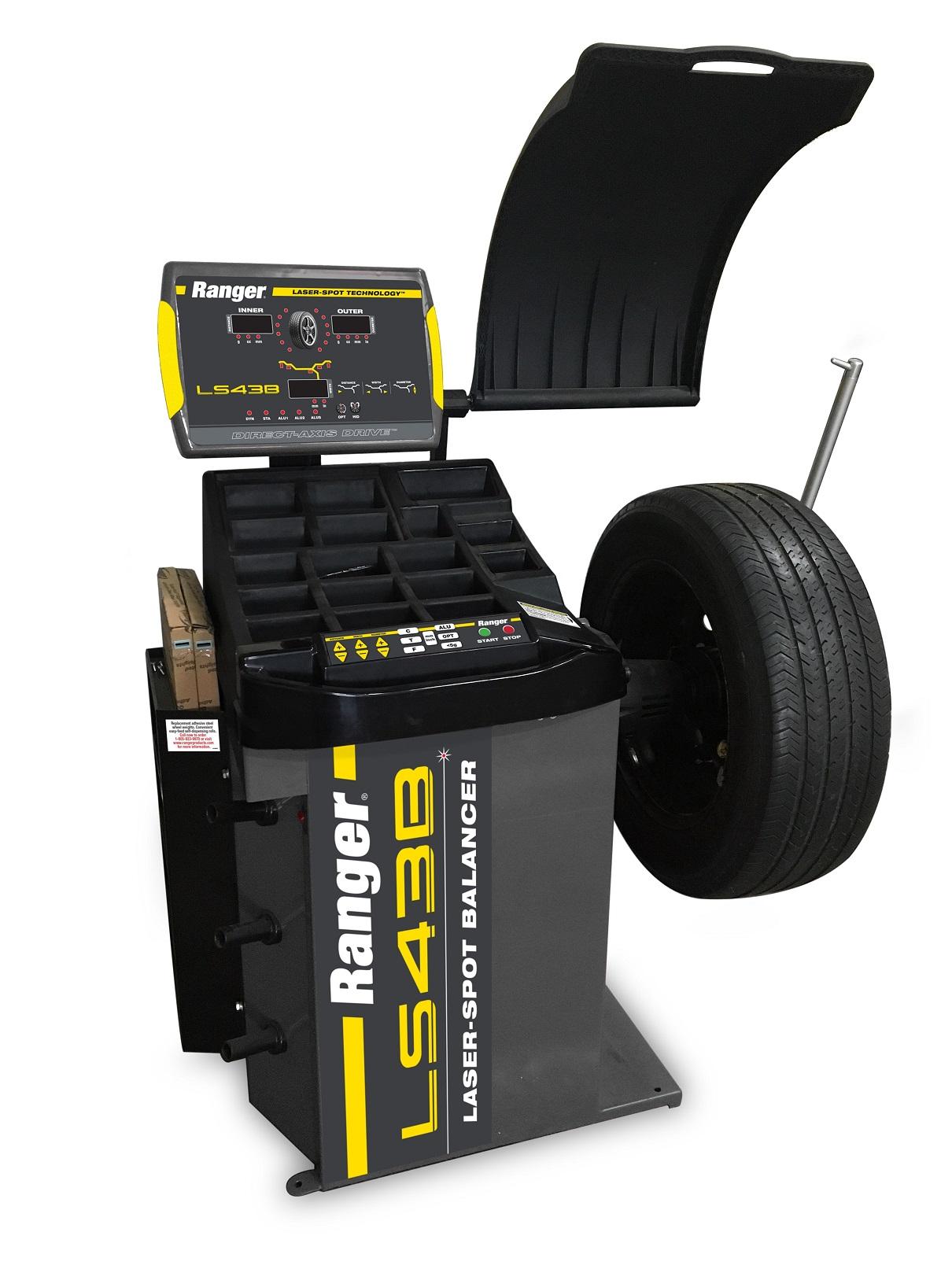 Ranger Balancer Pinpoints Wheel Weight Locations