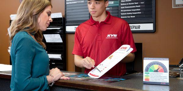 "KYB's consumer rebate program, ""Feeling is Believing,"" makes it easier for motorists to feel the..."