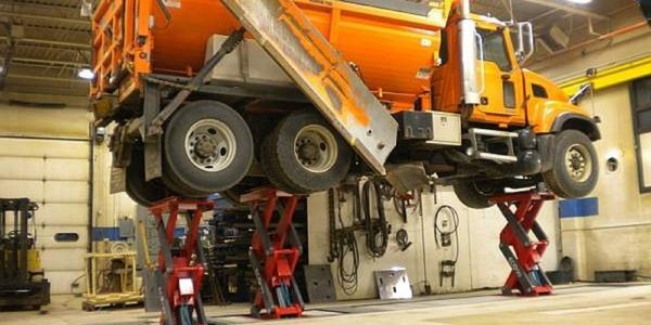 Stertil-Koni says the inground scissor EcoLift is is ideal for retrofit and existing workshop....