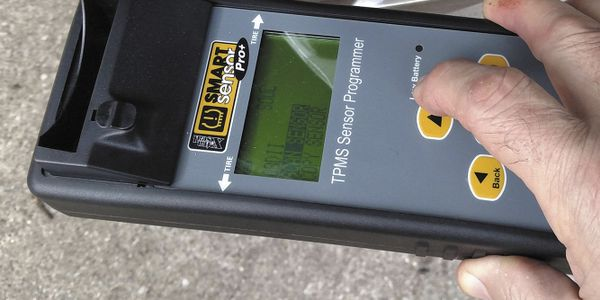 Prior to any TPMS service, existing sensors should be scanned for potential concerns. This step...