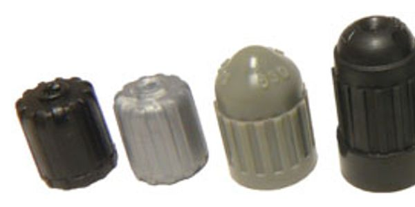 Shown here is an array of caps intended for TPMS applications. In this photo, notice that the...