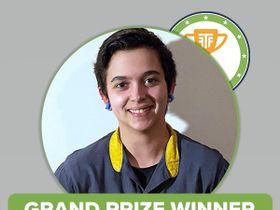 Melina Algier Wins TechForce Foundation's Techs Rock Award