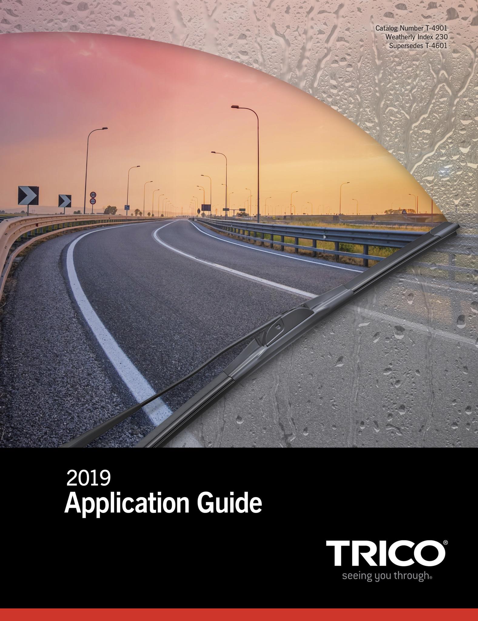 Trico Releases 2019 U.S. Automotive Application Guide
