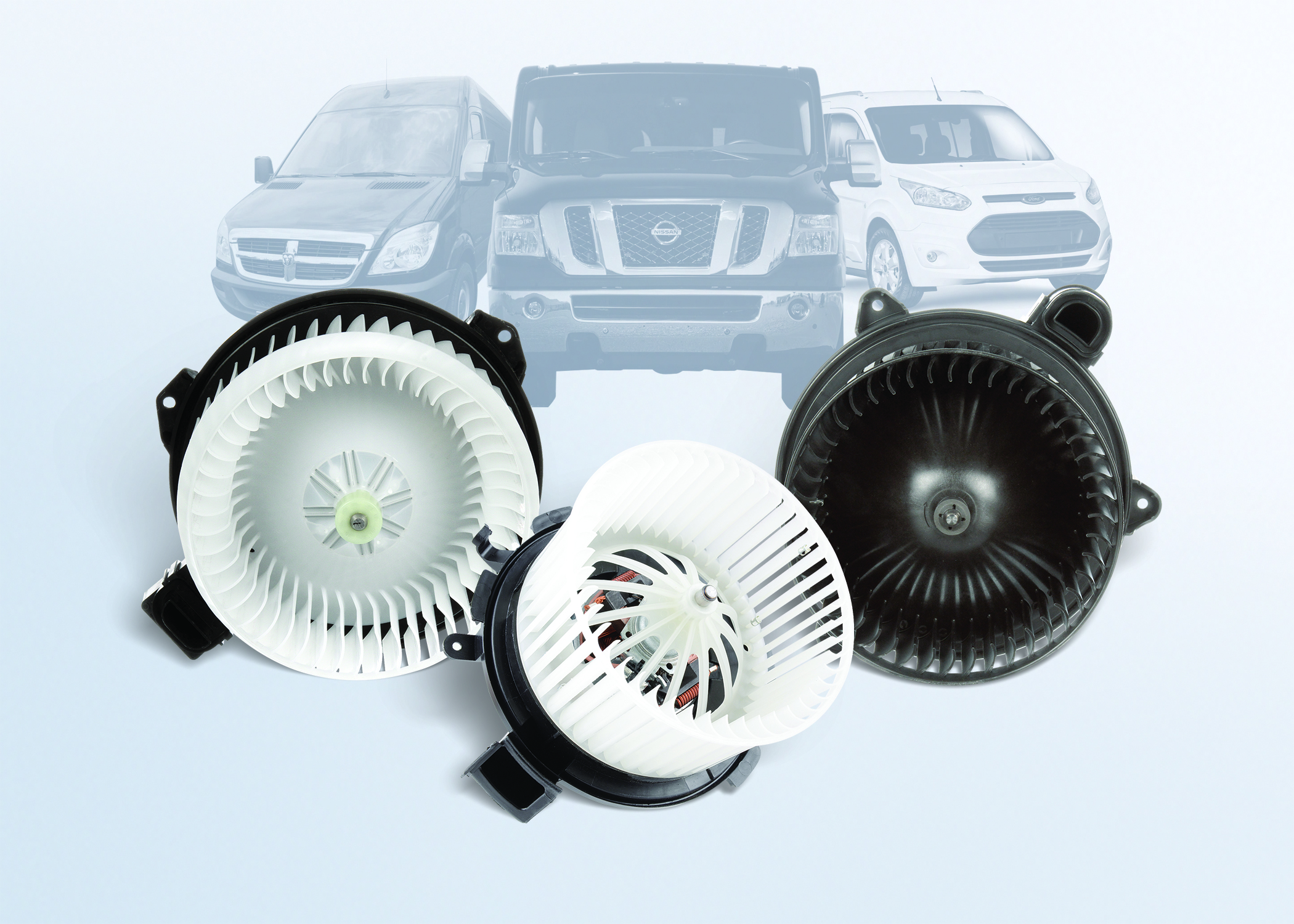 Continental VDO Blower Motors Fit Utility Vans
