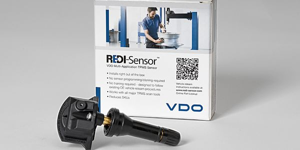 The new REDI-Sensor SE10005 is compatible with all major TPMS scan tools and is ready to install...