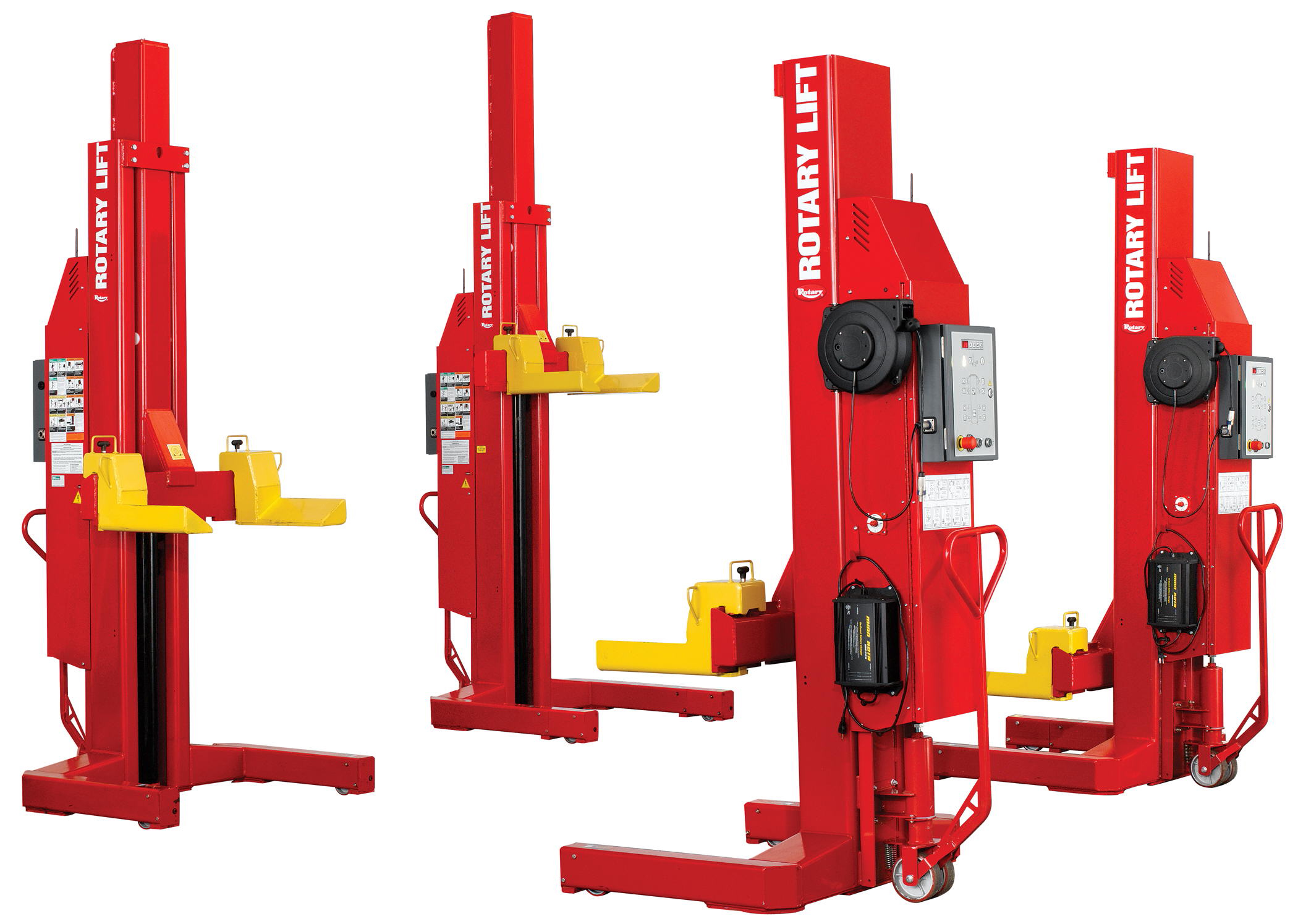 Rotary Lift offers Mach series lifts