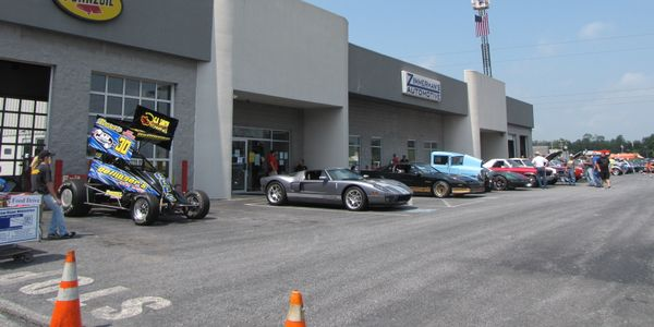 Zimmerman's Automotive is now in a 20,000-square-foot building housing 12 service bays and a...