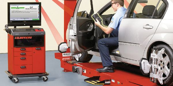 Today's electronic wheel alignment systems offer precision and ease of use, including such...