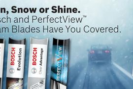 Bosch Debuts 'Rain, Snow or Shine' Wiper Blade Promotion