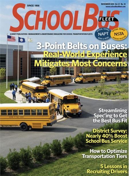 November 2015 Issue School Bus Fleet