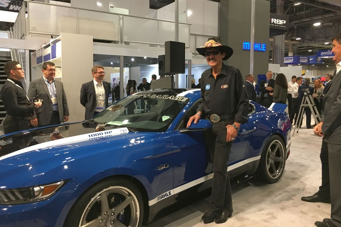 The one and only Richard Petty was at the Mahle booth at AAPEX. The company gave away a...