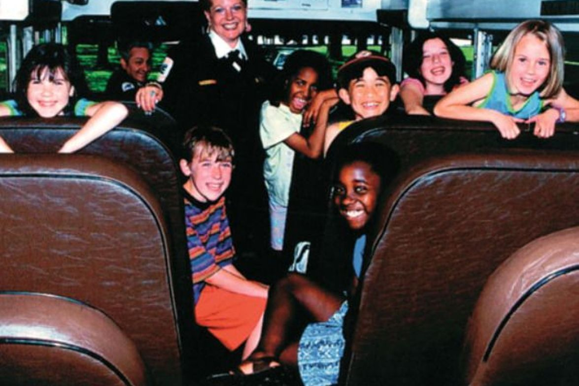 Atlantic Express transports 280,000 students throughout six states in the U.S.